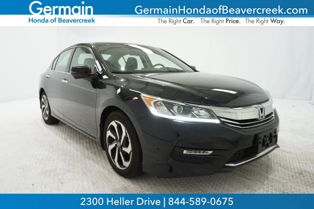 Certified Pre Owned 2016 Honda Accord Ex L
